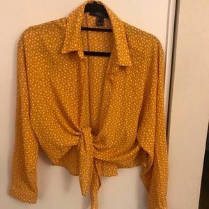 Never worn yellow blouse
